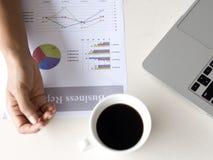 Biznesowego wykresu informaci diagram Fotografia Stock