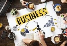 Biznesowego Wzrostowego sukcesu pracy zespołowej Korporacyjny pojęcie Obraz Royalty Free