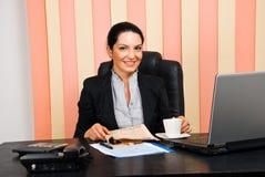 biznesowego życia biura kobieta Fotografia Stock