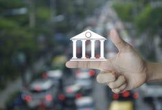 Biznesowej bankowości online pojęcie Obrazy Royalty Free