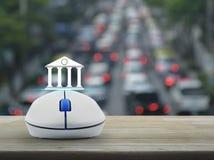 Biznesowej bankowości online pojęcie Obrazy Stock