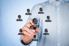 biznesowej bizneswomanu grupy ludzcy wielcy ludzie zasobów Obraz Stock