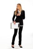 biznesowej dziewczyny ja target1117_0_ target1118_0_ Obraz Royalty Free