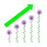 biznesowej gospodarki zielony idzie przemysłu prac pieniądze royalty ilustracja