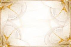 biznesowej grafiki graniczny żółty Obraz Royalty Free