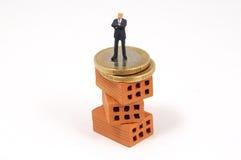biznesowej inwestyci metafora Fotografia Stock