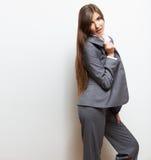 Biznesowej kobiety mody stylu portret Kobiety wzorcowy st Zdjęcie Royalty Free