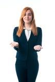 Biznesowej kobiety oferty kupować Fotografia Royalty Free