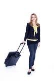 Biznesowej kobiety podróżować Fotografia Stock