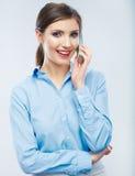Biznesowej kobiety portret Obrazy Royalty Free