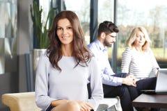 Biznesowej kobiety portret Zdjęcie Royalty Free