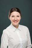 Biznesowej kobiety portret Zdjęcia Royalty Free