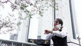 Biznesowej kobiety praca zespołowa Opowiada pojęcie