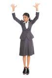 Biznesowej kobiety ręki podnosić Fotografia Royalty Free