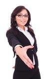 Biznesowej kobiety ręki potrząśnięcie Obraz Royalty Free
