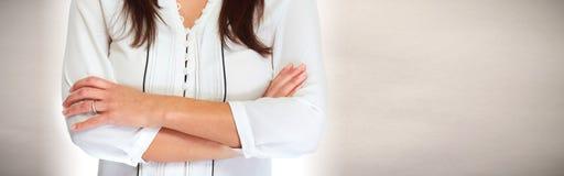 Biznesowej kobiety ręki Obraz Royalty Free
