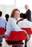 biznesowej konferenci partnery Fotografia Stock