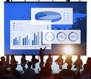 Biznesowej mapy Organisation sukcesu pojęcie zdjęcia stock