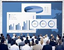 Biznesowej mapy Organisation sukcesu pojęcie Obraz Stock