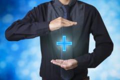 Biznesowej oferty pozytywny pojęcie jak zysk, korzyści, ogłoszenie towarzyskie Fotografia Stock