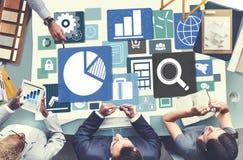 Biznesowej statystyki spotkania analizy Planistyczny pojęcie Zdjęcie Stock