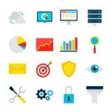 Biznesowi analityka przedmioty ilustracja wektor