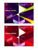 Biznesowi broszurka projekta 2 kolory dostępni Zdjęcie Royalty Free