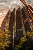 Biznesowi budynki biurowi Obraz Stock
