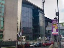 Biznesowi budynki Kaptanpasa Istanbuł fotografia stock