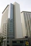 Biznesowi budynki, nowożytna architektura Fotografia Royalty Free