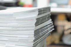 Biznesowi dokumenty na biurku Zdjęcie Stock