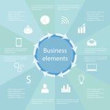 Biznesowi elementy Obraz Stock