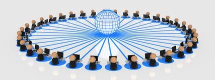 biznesowi internetów symboli/lów użytkownicy ilustracji