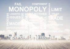 Biznesowi konceptualni słowa jak klucze sukcesu i firmy przyrost Zdjęcia Stock