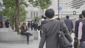 Biznesowi mężczyźni w kostiumach zbiory wideo