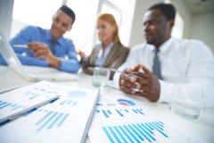 Biznesowi papiery Fotografia Stock