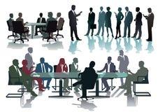 Biznesowi profesjonaliści w konferenci lub spotkanie Fotografia Stock