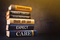 Biznesowi przywódctwo atrybuty, cechy w literaturze i obrazy stock