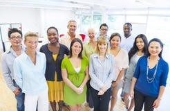 biznesowi różnorodni grupowi ludzie obraz royalty free