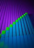 biznesowi rynek walutowy grafika wskaźniki Obrazy Royalty Free