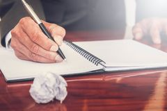 Biznesowi spotkania, dokumenty, sprzedaży analiza, analiza wynikają, obraz stock