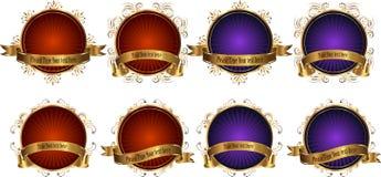 Biznesowi sztandary Fotografia Royalty Free