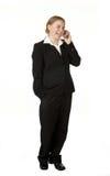 biznesowi telefon komórkowy kobiety potomstwa Zdjęcie Royalty Free