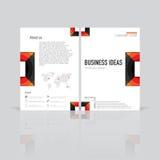 biznesowi ustaleni szablony Fotografia Stock