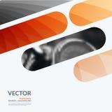Biznesowi wektorowi projektów elementy dla graficznego układu Nowożytny abstr Zdjęcia Stock