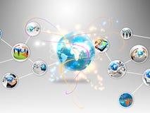 Biznesowy świat ilustracji