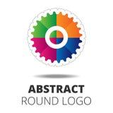 Biznesowy Abstrakcjonistyczny okręgu logo Obraz Stock