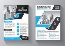 Biznesowy abstrakcjonistyczny wektorowy szablon Broszurka projekt, okładkowy nowożytny układ, sprawozdanie roczne, plakat, ulotka ilustracji