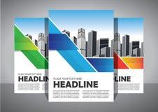 Biznesowy abstrakcjonistyczny wektorowy szablon Broszurka projekt, okładkowy nowożytny układ, sprawozdanie roczne, plakat, ulotka royalty ilustracja