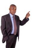 Biznesowy Amerykanin afrykańskiego pochodzenia mężczyzna Obraz Royalty Free